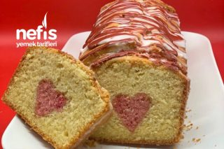 Sevgililer Günü Pastası - Sürpriz Kalpli Pasta Tarifi