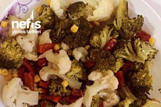 Brokoli Ve Karnabahar Salatası Tarifi