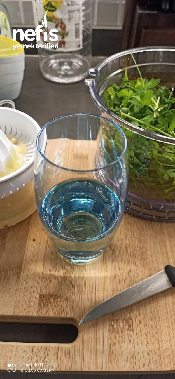 Metabolizma Hızlandırıcı Maydonoz-limon Kürü
