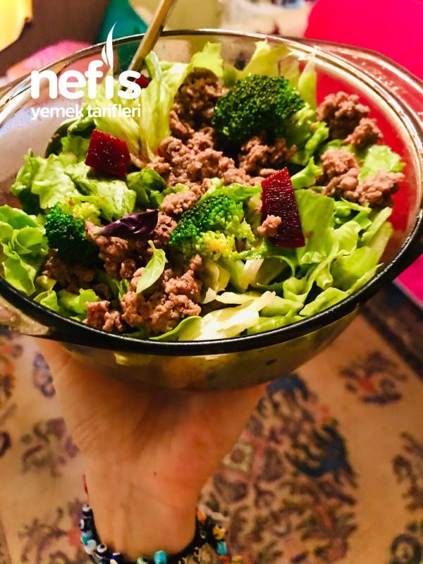Sıfır Karbonhidrat Protein Salatası Sadece 350 Kalori(diyet Protein Tabağı)