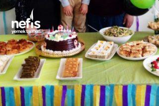 6 Yaş Doğum Günü Menüsü Tarifi