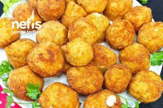 Kaşar Peynirli Çıtır Patates Topları Tarifi