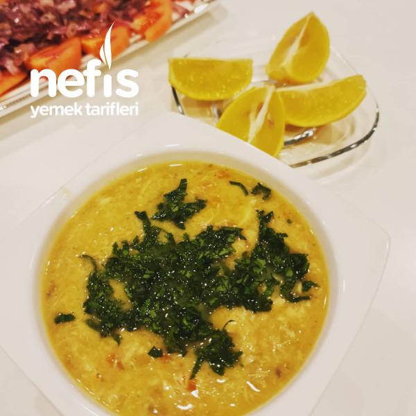 Mandalina Sulu Balık Çorbası