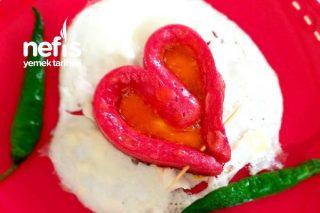 Sevgililer Gününe Özel Kalp Yumurta Tarifi