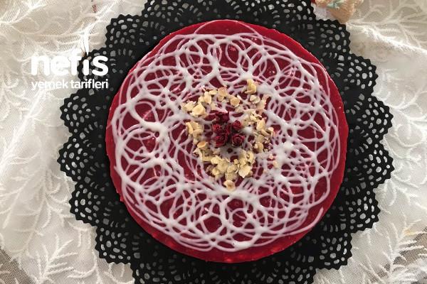 14 Şubat Cheesecake (Pişirmeden)