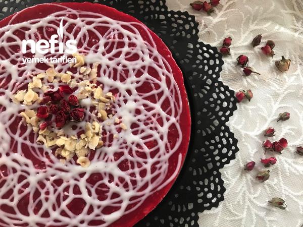 14 Şubat Cheesecake(pişirmeden)