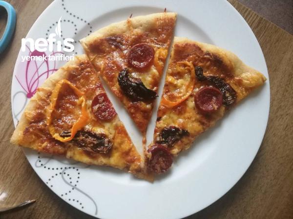 Ekşi Mayalı Tam Bugday Unlu Pizza