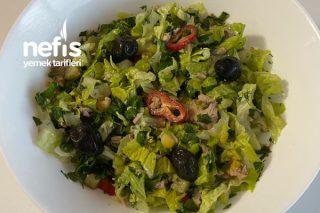 Ton Balıklı Salata (Bol Malzemos) Tarifi