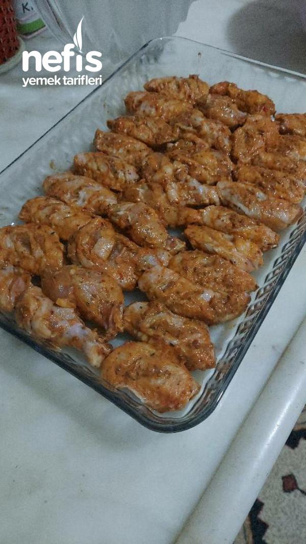 Barbekü Soslu Tavuk Kanat