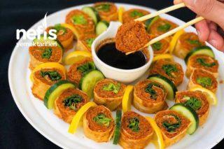 Çiğ Köfte Sushi Tarifi