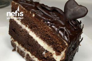 Enfes Lezzetli Çikolatalı Yaş Pasta Tarifi