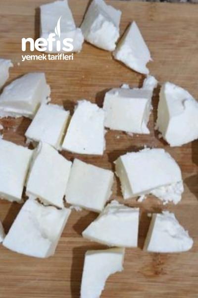 Ev Yapımı Pastörize Sütten (Peynir yapımı)