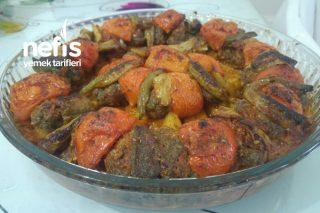 Fırında Sebzeli Köfte (Yapmayan Kalmasın Bence) Tarifi