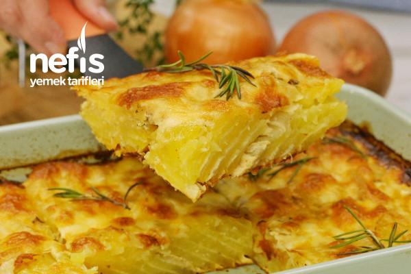 Fırında Sütlü Patates (En Sevdiğim)