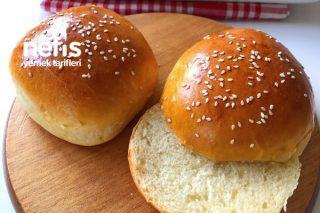 Yumuşacık Tam Ölçülü Hamburger Ekmeği Tarifi