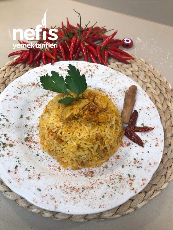 Basmati Pirinçli, Tavuklu Büryani