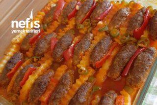 Fırında Köfte Patates Yemeği (Akşama En Pratik Tarif) Tarifi