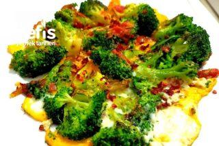 Kahvaltı İçin Sağlıklı Öneri Soslu Yumurtalı Brokoli Tarifi