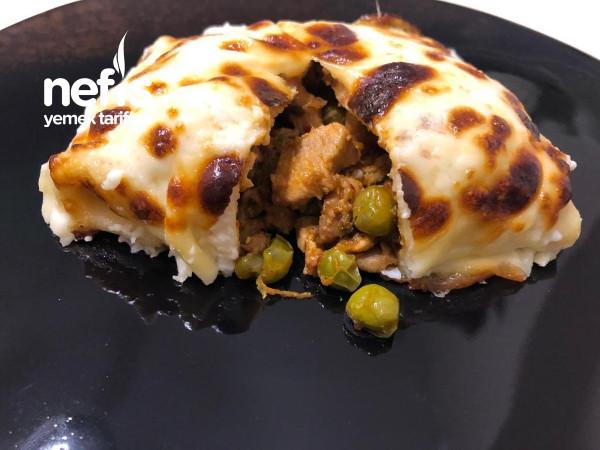 Tavuklu Krepli Sultan Kebabı (Videolu)