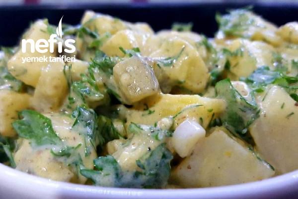 Avusturya Patates Salatası (Videolu)