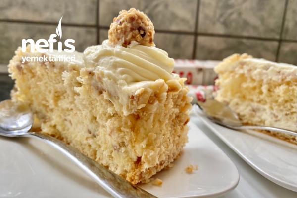 Giotto Pastası Fındıklı Yaş Pasta Tarifi (Videolu)