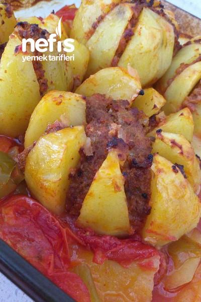 Hoş Sunumu İle Patates Kebabı