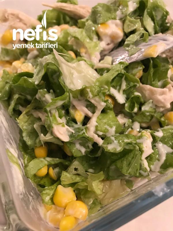 Kalorisiz Doyurucu Sağlıklı Salata