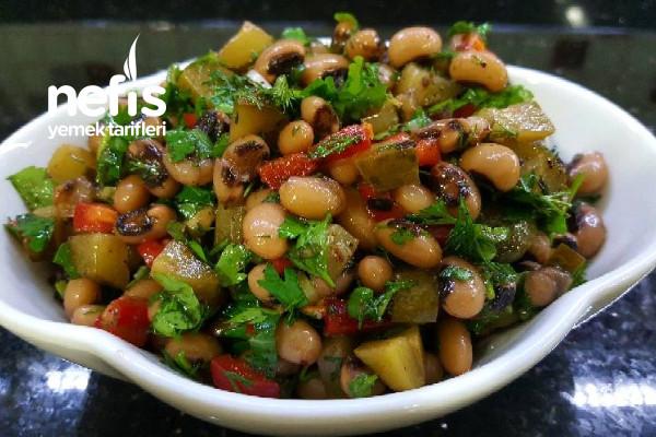 Kuru Börülce Salatası Videolu