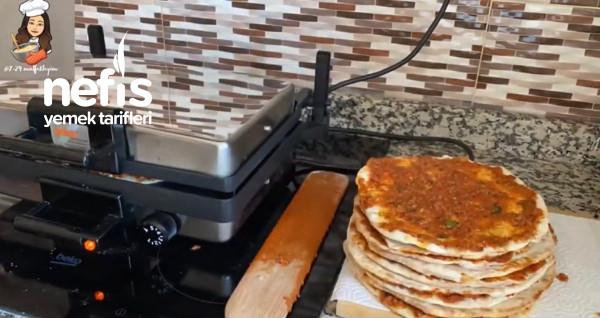 lahmacun tarifi/ ev yapimi citir lahmacun( videolu)