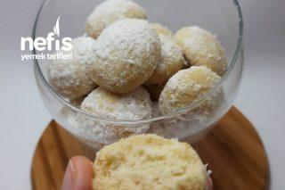 Margarinsiz Yumurtasız Hindistan Cevizli Kurabiye Tarifi
