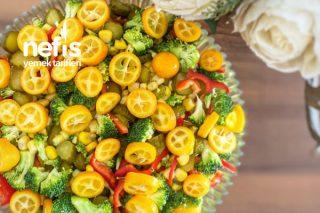 Pişirme Olmadan Brokoli Salatası Tarifi