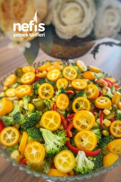Pişirme Olmadan Brokoli Salatası