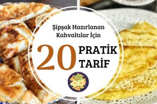 Sabah Kahvaltısı Aceleye Gelenlere 20 Şipşak Tarif Tarifi