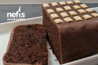 Çikolata Kaplı Kakaolu Kek Tarifi
