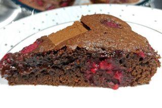 Frambuazlı Çikolatalı Brownie Tarifi