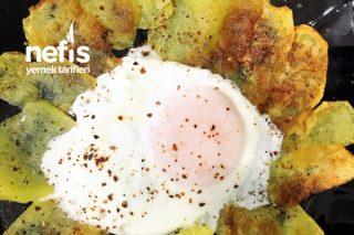 Güneş Yumurta (Patatesli Yumurta) Tarifi