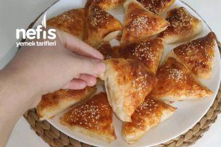 Hazır Yufkadan Puf Puf Kabaran Börek (Videolu) Tarifi