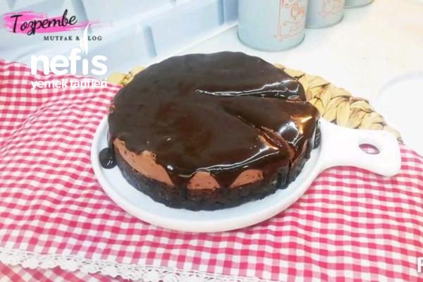 Artan Keklerden Yaş Pasta Yaptım  (Un Yok Yumurta Yok Fırın Yok) (Videolu)