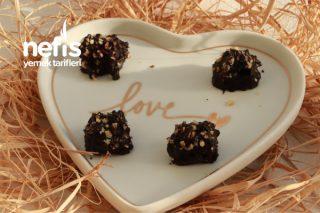 Kalorisi Düşük Sağlıklı Ferrero Rocher Çikolata Tarifi