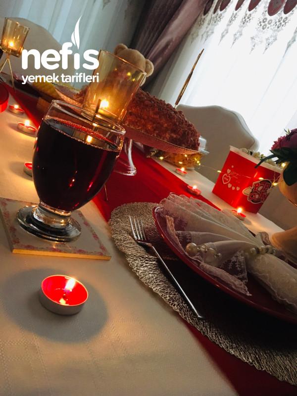 Romantik (Sevgiliye) Masa Hazırlama