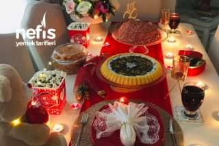 Romantik (Sevgiliye) Masa Hazırlama Tarifi