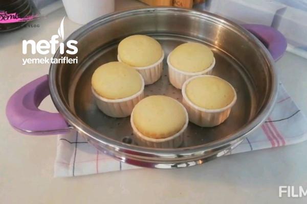 Tencerede Cupcake| 1 Yumurta İle Fırınsız Enfes Sütlü Kek