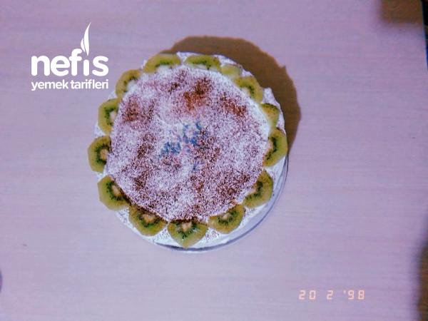 Bisküvili Pasta (Uygun Fiyatlı Yaş Pasta Görünümlü)