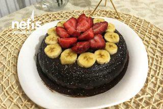 Black Bean Brownies (Unsuz,Yağsız Fasulyeli Kek) Tarifi