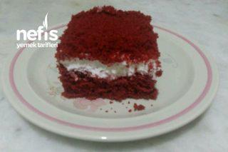 Borcamda Kolay Kırmızı Kadife Kek Tarifi