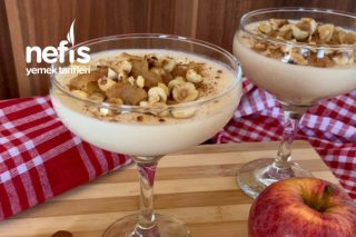 Elmalı Fındıklı Muhallebi Tarifi
