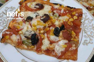 Hazır Hamurdan Gerçek Pizza Tarifi