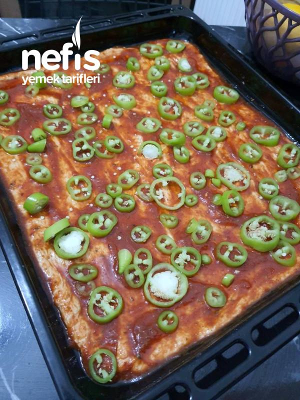 Hazır Hamurdan Gerçek Pizza