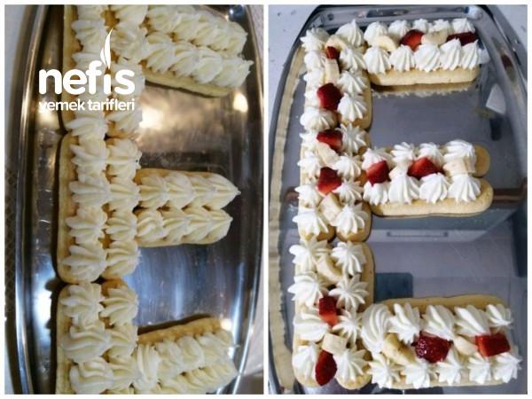 Hem Çok Kolay, Hem Çok Leziz Harf Pasta Yapımı