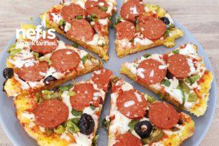 Tavada Bayat Ekmek Pizzası Tarifi